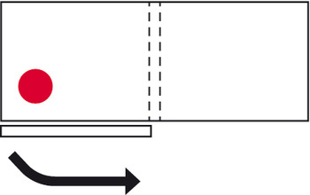 Meccanismo Ante Scorrevoli Complanari.Ante Scorrevoli Slido Flat 60 Fb Complanare Guarnitura In Hafele
