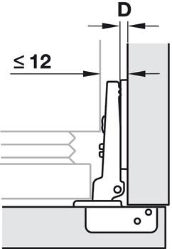 Cerniere Per Armadi Ad Angolo.Cerniera Duomatic 94 Montaggio Ad Angolo Per Armadi Ad Angolo