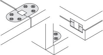 Meccanismi Per Tavoli Pieghevoli.Cerniera Per Tavolo Pieghevole Per Tavoli Pieghevoli E Tavolini A