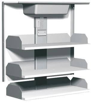 Dispositivo Di Sollevamento Per Ripiano Interno Pensile Per Mobili Pensili Con Altezza Da 700 Mm In Hafele Italia Shop