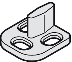 Tissting Guide per Porte a Pavimento in Acciaio Inossidabile Guide Pavimento Porte Vetro Bagno Accessori Porte scorrevoli Vetro Regolabili