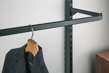 Porta grucce per profili a muro e montanti u in häfele italia shop
