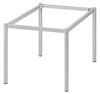 Gambe Per Tavoli In Alluminio.Set Completo Rtg O 45 Telaio Tubolare Per Tavolo In Hafele