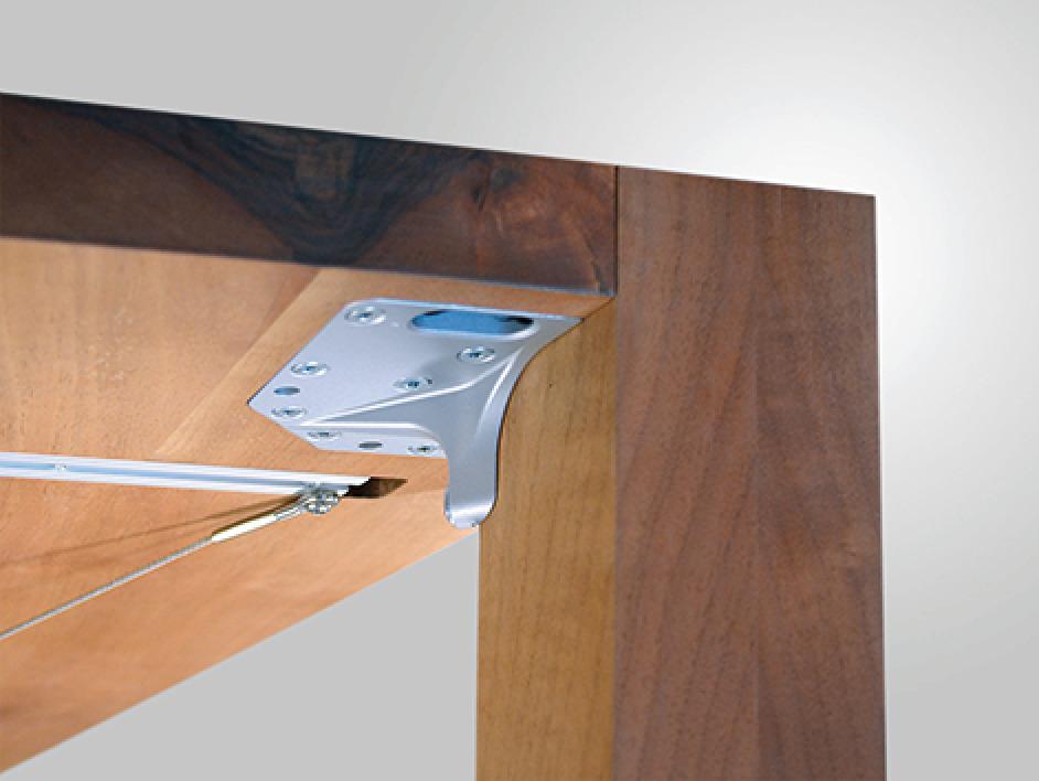 Fissaggio per gambe tavolo per il montaggio di gambe - Gambe acciaio per tavoli ...