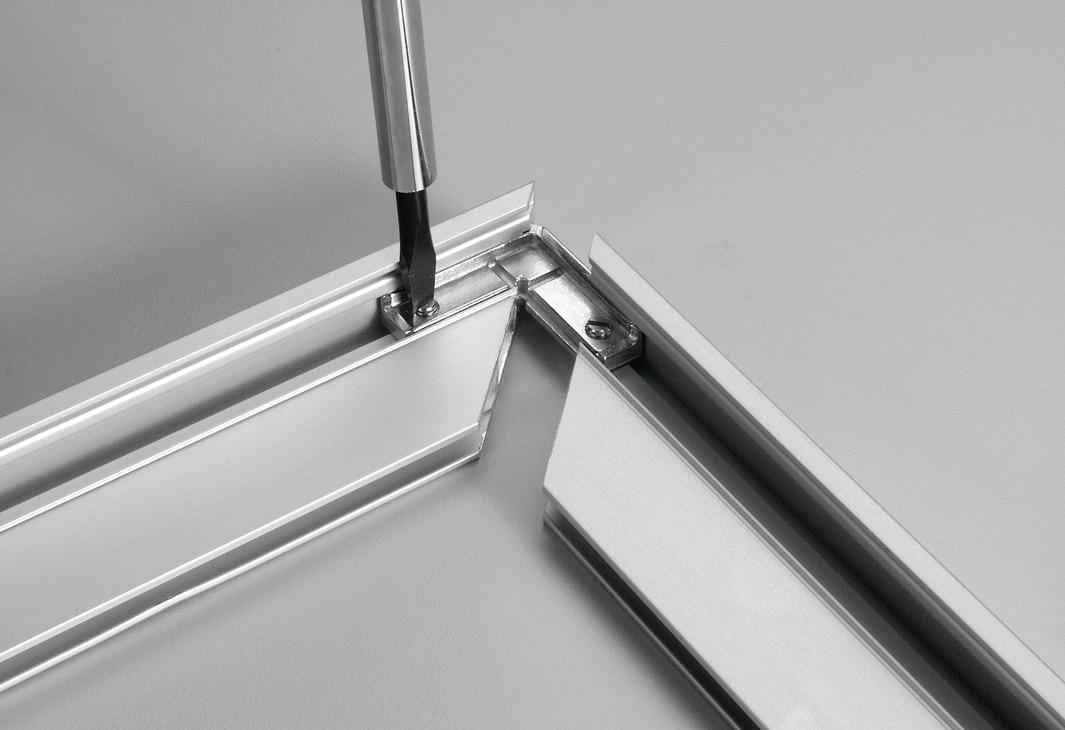 Giunzioni Angolari Per Profilo Telaio In Alluminio Per