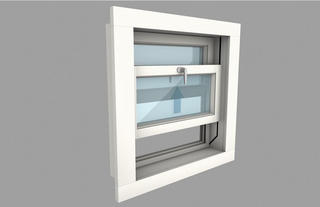 Guarnitura per finestre scorrevoli hawa vertical 150 in for Finestre shop