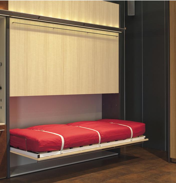 Guarnitura per letto ribaltabile,Duoletto, trasversale ...