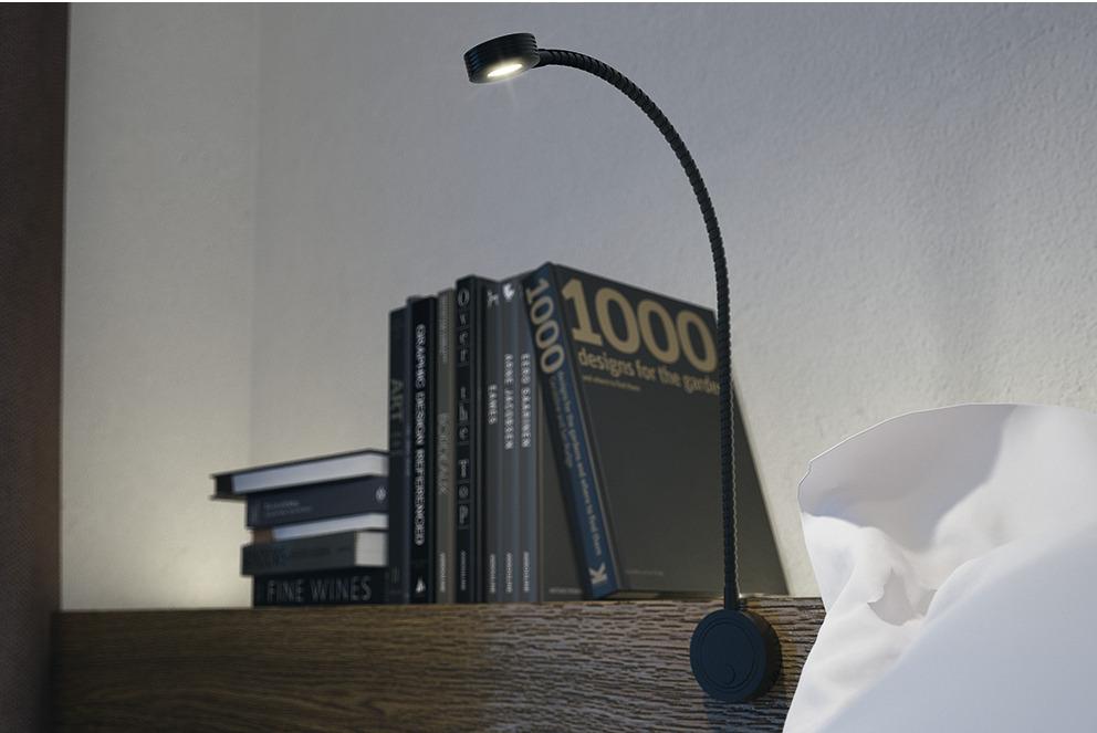 Piantana lampada da terra ad arco easy stelo stile moderno design