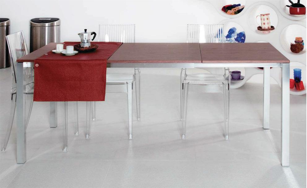 Meccanismo per tavolo allungabile per 1 allunga di testa a - Meccanismo per tavolo allungabile ...