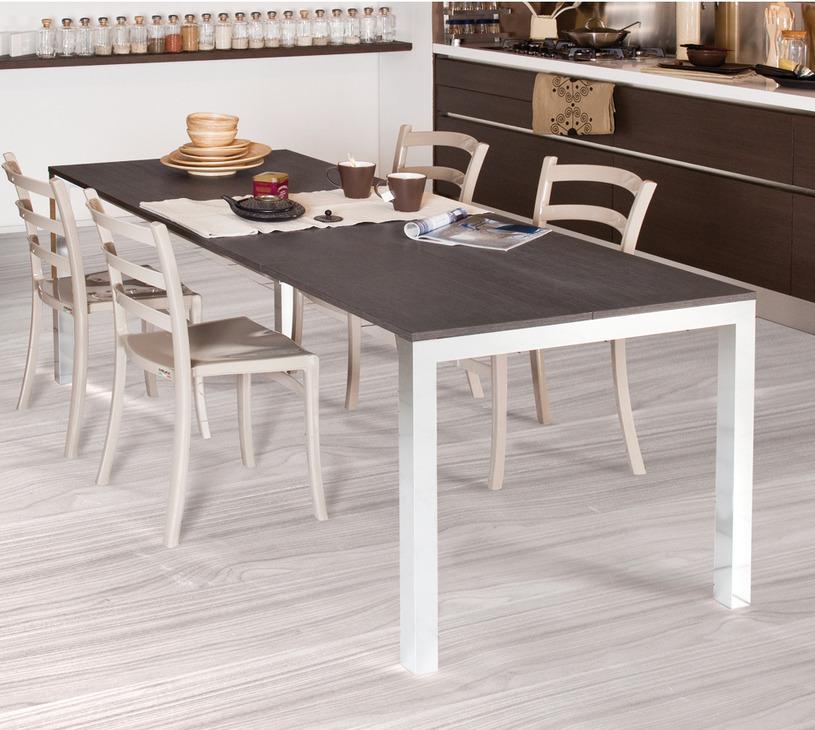 Costruire tavolo allungabile good tavoli rotondi in legno - Meccanismo per tavolo allungabile ...