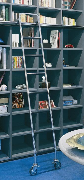 Scale scorrevoli per librerie per librerie di altezze - Scale scorrevoli per biblioteche ...