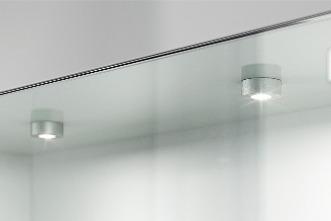 Lampada da incassare lampada sottopensile modulare häfele loox